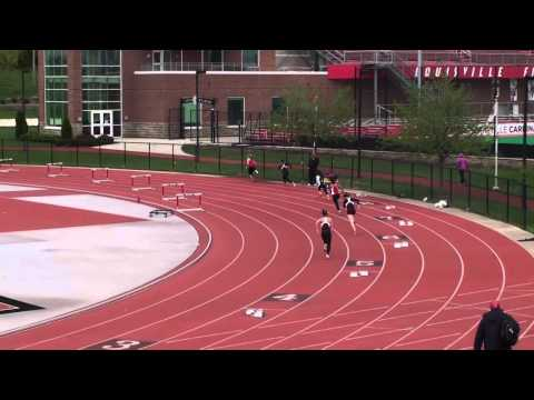 Louisville 21 Apr 2013 - 400m Hurdles (W) - Lenny Lyles/Clark Wood Invite