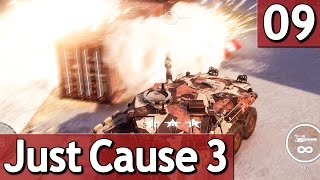 Just Cause 3 #9 ABRISS mit dem PANZER 60 FPS Abriss Simulator Lets Play deutsch german