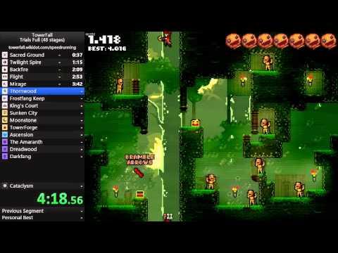 TowerFall Speedrun - Trials Full 12:41.28