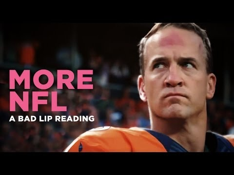 MORE NFL A Bad Lip Reading Of The NFL YouTube - A bad lip reading of the nfl