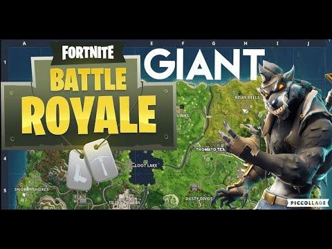 How to become *GIANT* in Fortnite Battle Royale