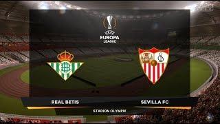 FIFA 19   FINAL UEFA Europa League   Real Betis vs Sevilla FC   Gameplay PS4