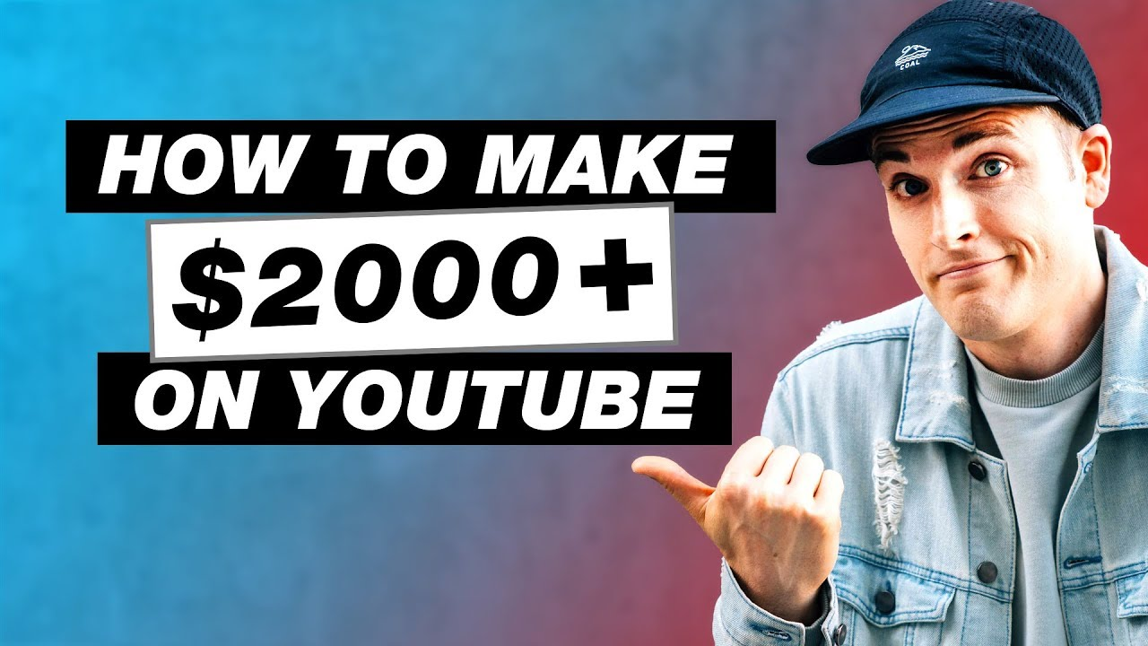How to Make $2000 a Month on YouTube – 5 Pro Tips