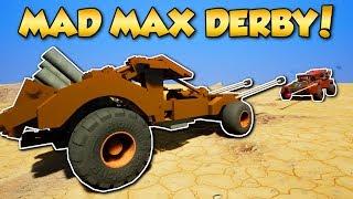 MAD MAX DERBY! -  Brick Rigs Gameplay - Multiplayer Derby Challenge!