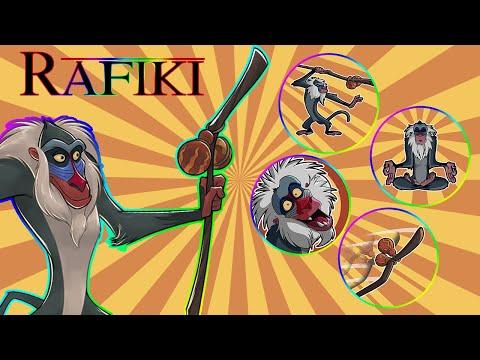 RAFIKI REVIEW & TEAM SUGGESTIONS - NEW CHARACTERS - UPDATE 1.11 - Disney Heroes Battle Mode