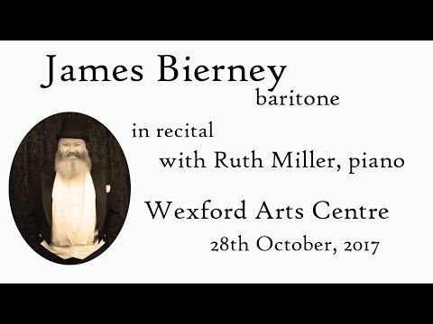 James Bierney, baritone, Wexford Arts Centre 28th October, 2017