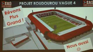 Le stade du Roudourou agrandi !!!!!!!!!!!