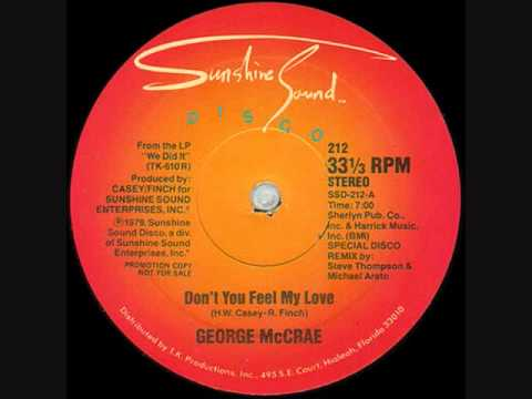 Dont You Feel My Love   George McCrae