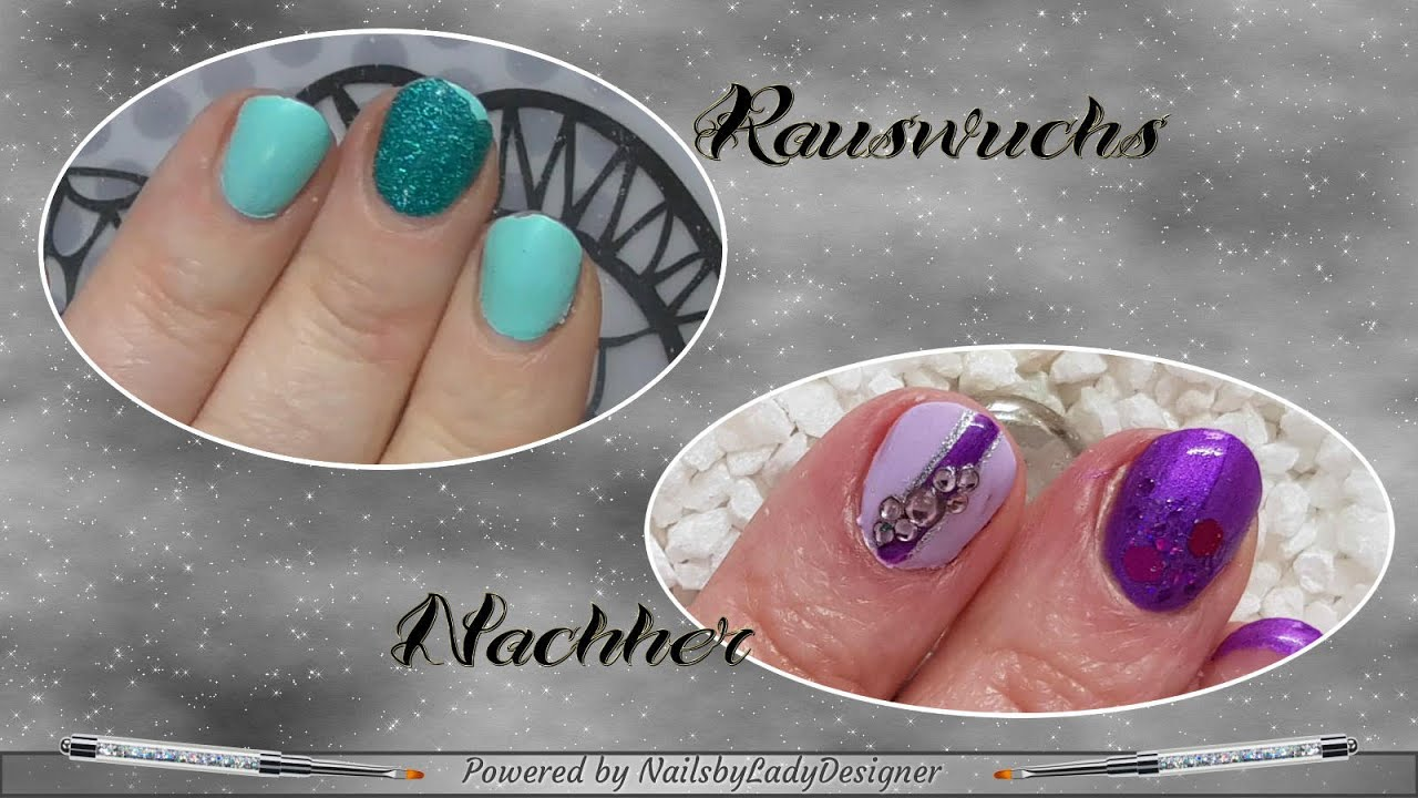 Hochzeitsnägel Fullcover Lila Fullcover 3in1 Lynicole In Kombi Mit Aretini Nailsbyladydesigner