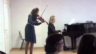 И.С.Бах-Концерт ля минор 1 часть исп.А.Костенко