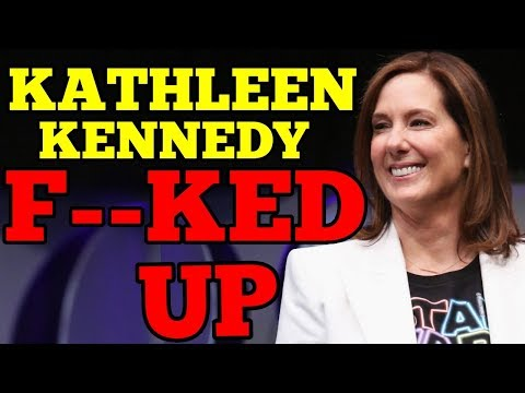 Kathleen Kennedy's Episode IX Damage Control says Rise of Skywalker IS an EPIC DISASTER!