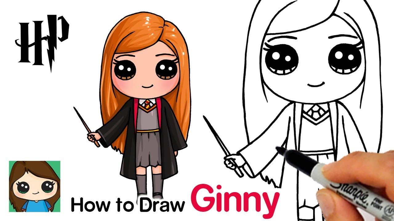 How To Draw Ginny Weasley Harry Potter