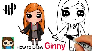 How to Draw Ginny Weasley | Harry Potter
