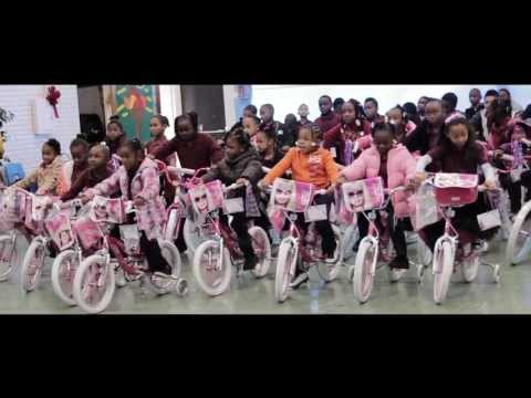 Park Elementary School Adopt-A-Bike Event by the USS Foundation, 12/12/12