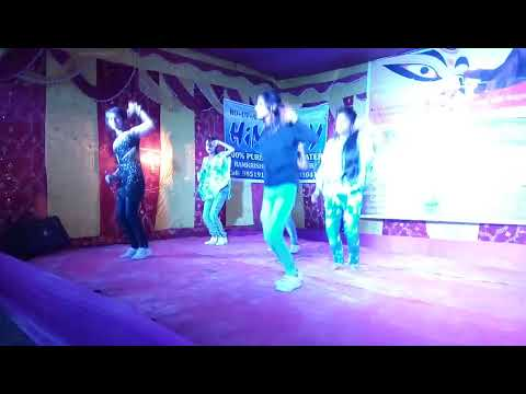 Ramkrishan Pur Club Math Durga Puja Dance program