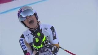 Lindsey Vonn Grabs 77th World Cup Win in Garmisch Downhill - 2017