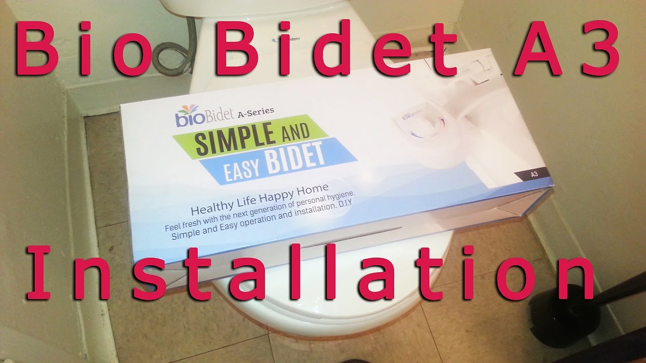 Bio Bidet A3 Installation Youtube