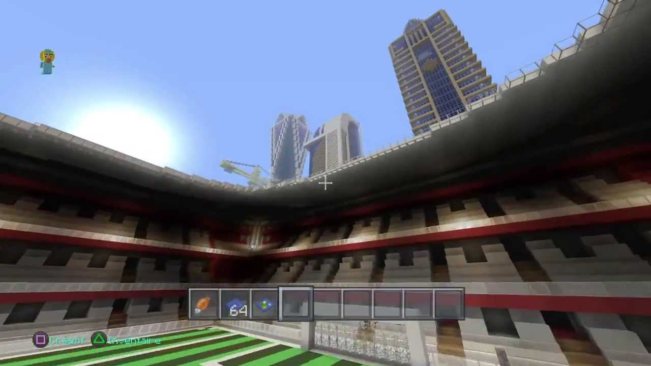 Minecraft Ps4 Visite D'une Grande Ville Moderne - YouTube