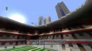 Minecraft Ps4 Visite D'une Grande Ville Moderne