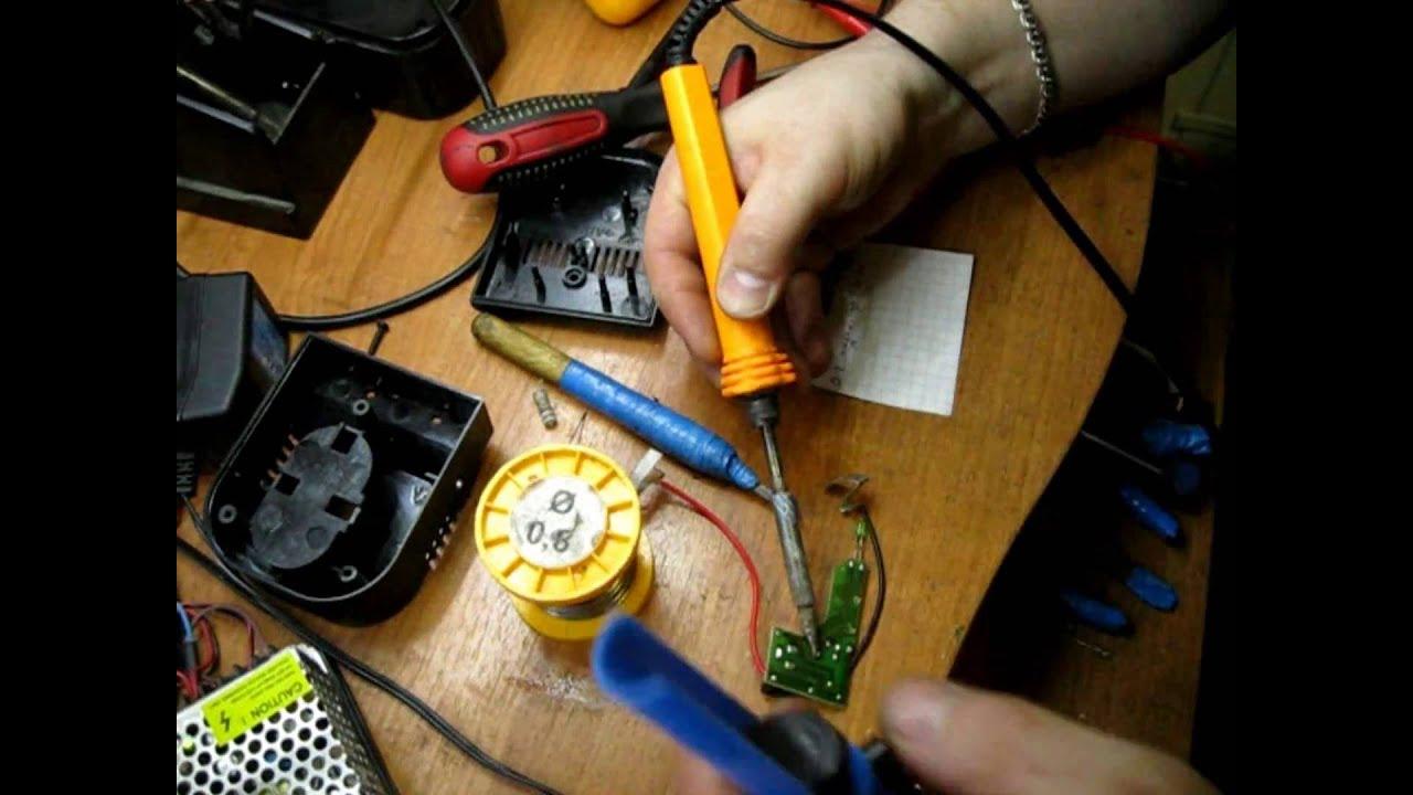 Ремонт зарядного устройства шуруповерта своими руками фото 13