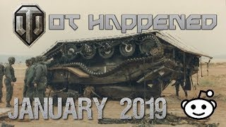 WoT Happened #25 January 2019 - World of Tanks Console Subreddit