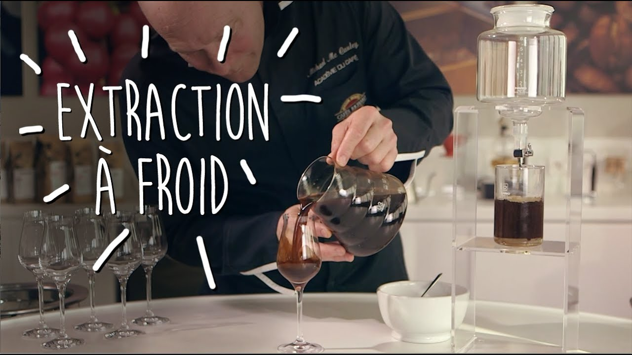 Machine A Cafe Extraction A Froid