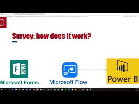 Microsoft Forms - Flow - PowerBI Streaming data set