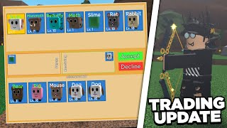 NEW TRADING UPDATE - Roblox Archery Simulator