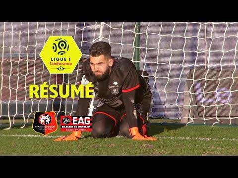Stade Rennais FC - EA Guingamp (0-1)  - Résumé - (SRFC - EAG) / 2017-18