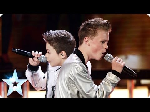 Bars & Melody perform Twista feat Faith Evanss Hopeful  Britains Got Talent 2014 Final