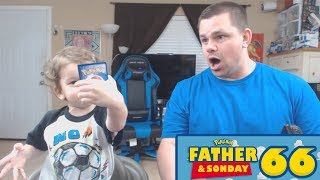 Father and Sonday! | Opening Pokemon Cards with Lukas #66