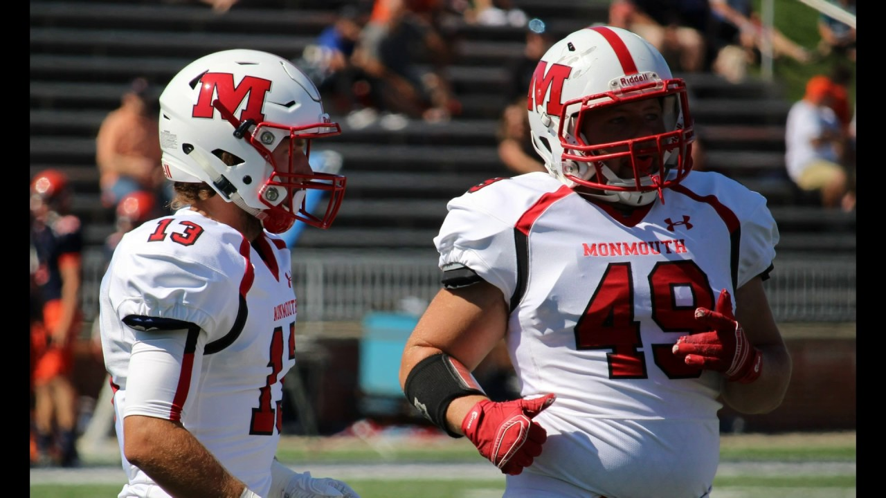 2016 Monmouth College Football Experience Youtube