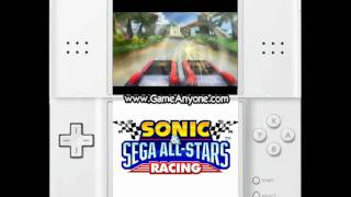 Sonic & Sega All-Stars Racing (DS) walkthrough Part 1 - Introduction + Tutorials