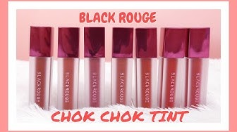 SWATCH & REVIEW // SON KEM BLACK ROUGE AIRFIT CHOK CHOK TINT