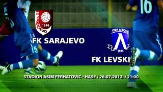 F.K. SARAJEVO F.K.LEVSKI KVALIFIKACIJE ZA UEFA EUROPE LEAGUE Thumbnail