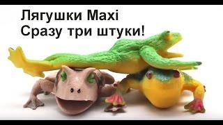 Лягушки  Maxi - сразу три штуки!