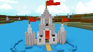 King Chad and Prince Ryan's Castle Floats?! Roblox Build a Boat to Treasure