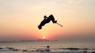 Экстремальная палка-скакалка Vurtego V4: Прыгай на высоту до 3 метров