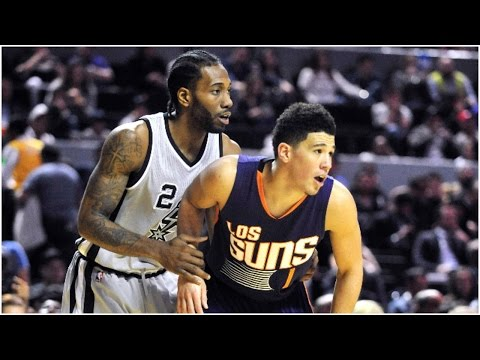 Devin Booker and Kawhi Leonard Duel in Mexico City | 01.14.17