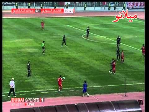 Ittihad of Aleppo  Syria  VS Muangthong United FC  Thailand    AFC Cub Semi Final 1 of 3