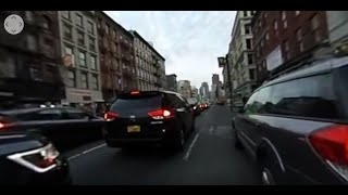 360 Video Tour of NYC: Manhattan to Brooklyn via Electric Skateboard