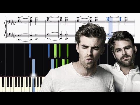 The Chainsmokers feat. Halsey - Closer - Piano Tutorial (with vocals!)
