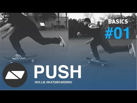 PUSHING SKATEBOARD [SKATEBOARDING START TUTORIAL #1.0]