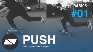 PUSHING SKATEBOARD [SKATEBOARDING START TUTORIAL #1.0]