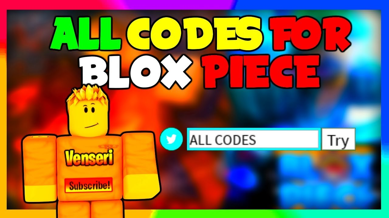 *ALL CODES* IN BLOX PIECE (Roblox)