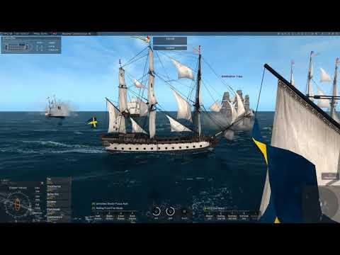 Naval Action-PvP-1st Cabal PvP Patrol Zone v  Prussians VG battle.