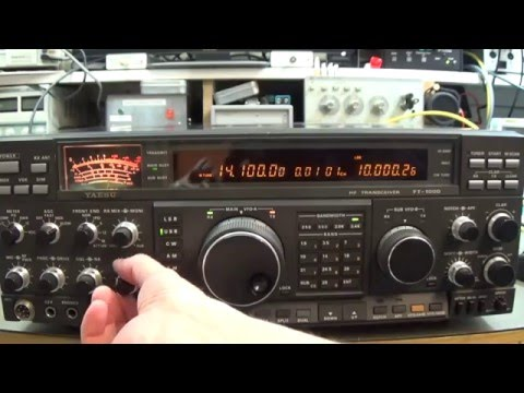 #84 Radio Repair: Yaesu FT-1000D with overloaded receiver