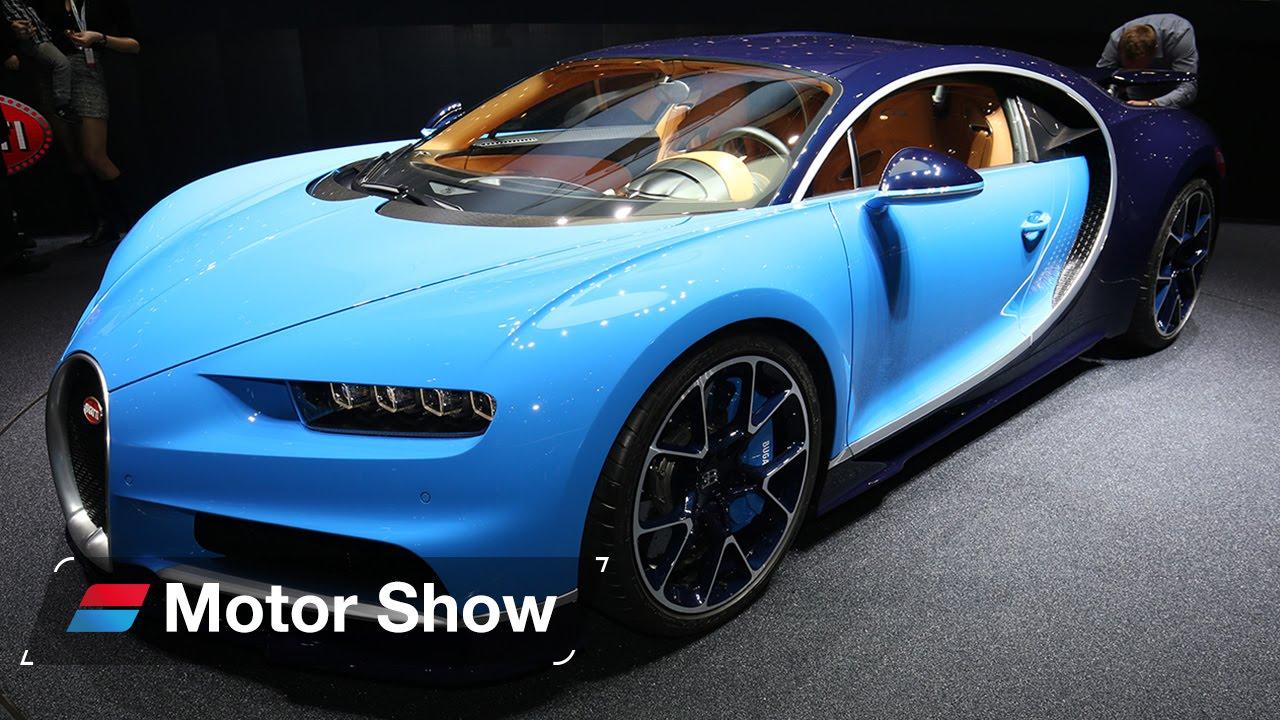Bugatti Chiron vs Pagani Huayra BC – 2016 Geneva Motor Show - YouTube