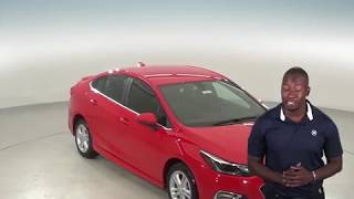 183136 - New, 2018, Chevrolet Cruze,  LT, Sedan, Red, Test Drive, Review, For Sale -