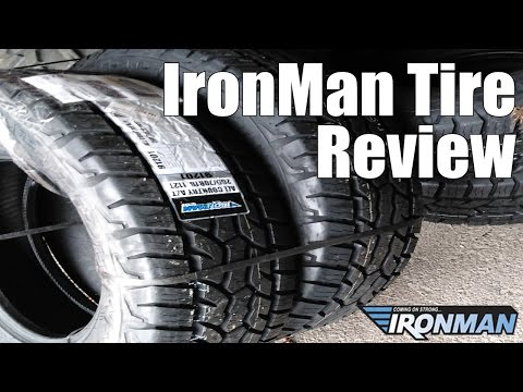 IRONMAN TIRE REVIEW GREAT CHEAP TIRE!!